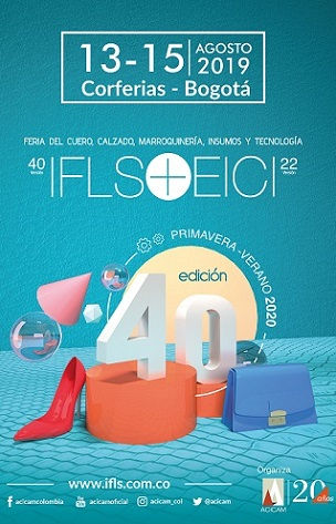 International Footwear and Leather Show del 13 al 15 de agosto en Corferias con las tendencias 2020