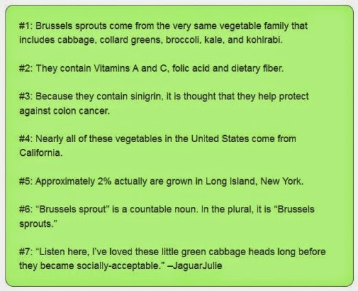 brussels sprouts factoids by jaguarjulie