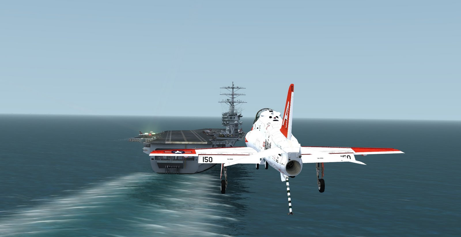 IndiaFoxtEcho Visual Simulations: T-45C 3D Modeling complete