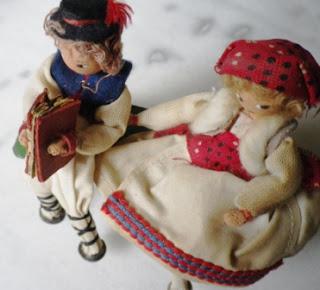 antiche bambole