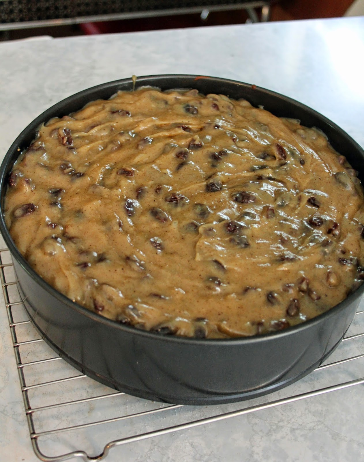 how to make sour cream raisin pie