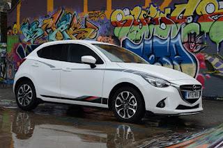 Mazda 2 Sport Black (2015) Front Side
