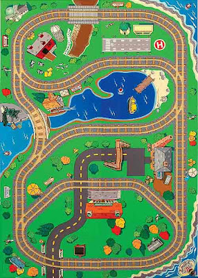 Thomas n friends wooden railway table cover kids furniture nice railroad track backdrop pictures