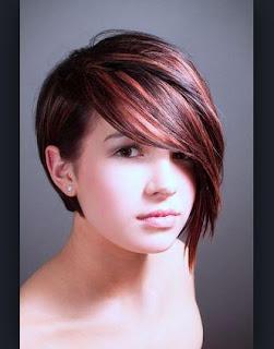 Gambar Trend Gaya Rambut Pendek Wanita Model Terbaru Gambar Emo Di - Gaya rambut pendek emo