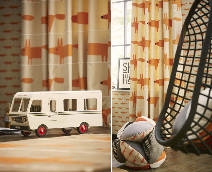 Rafa-kids furniture in the Guess Who? ScionUK wallpaper and textile company