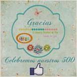 Celebra los 500 Me Gusta de El Universo Creativo de Tita Tienda On Line