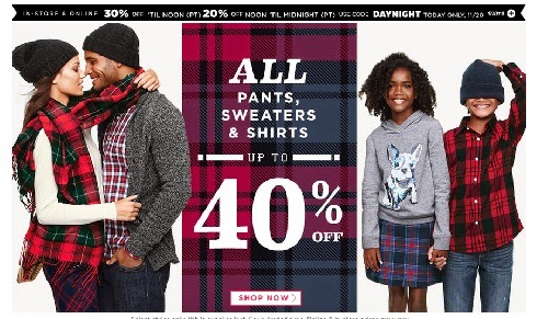 Old Navy 20% Off Coupon Promo Code