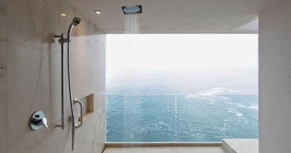 Dise o de interiores arquitectura 25 incre bles ideas - Ideas para duchas ...