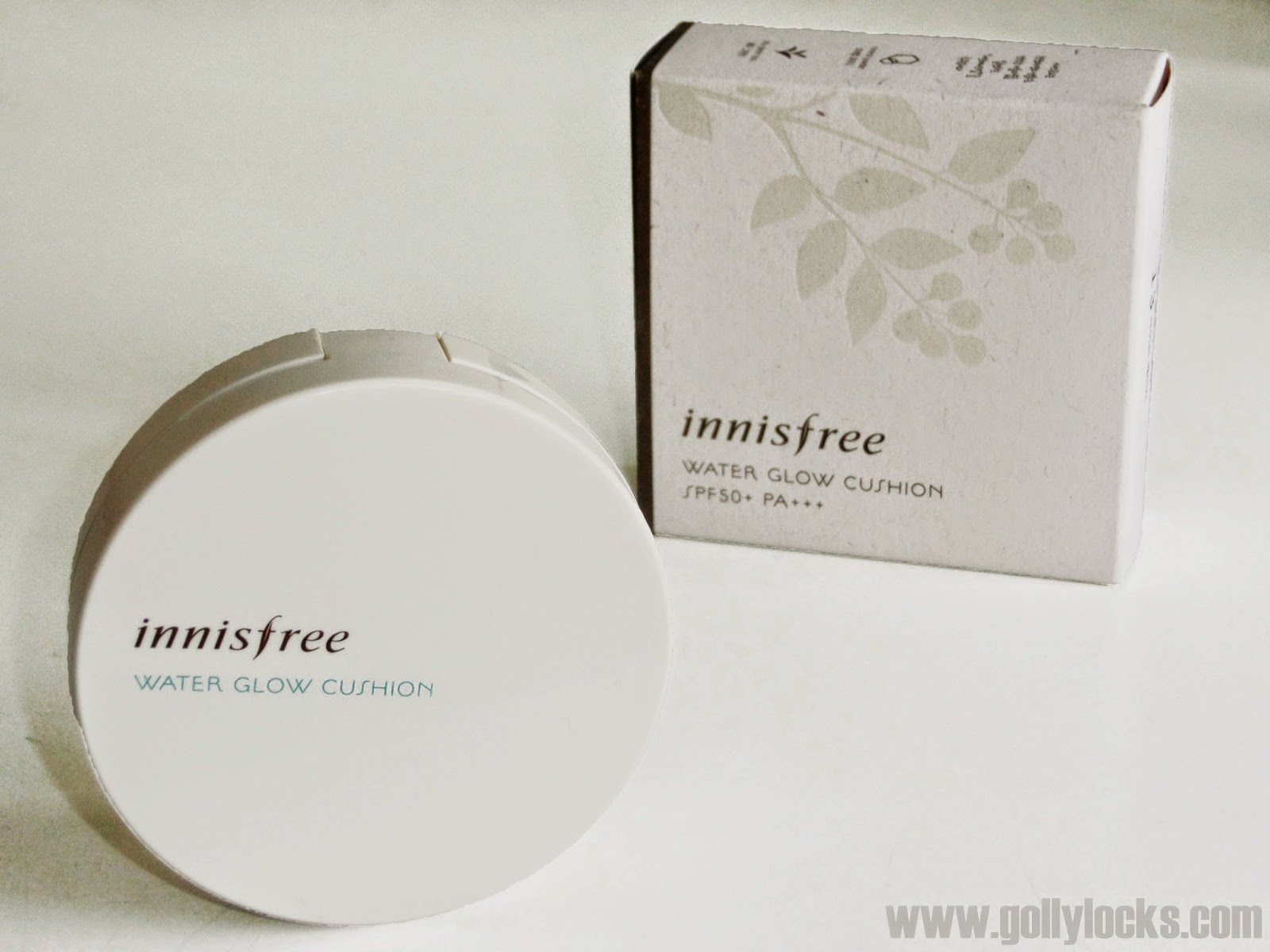 Innisfree water glow cushion review full view