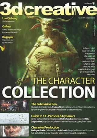 3DCreative Magazine Issue 084 August 2012