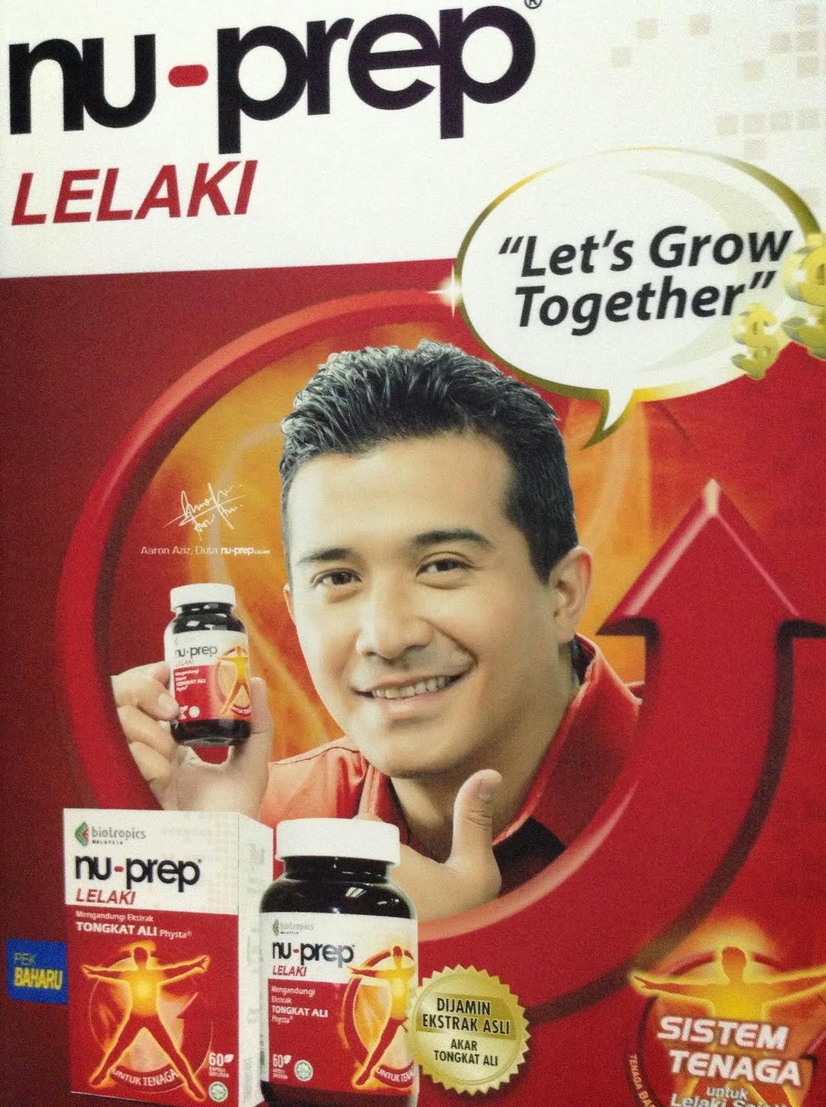 Tongkat Ali Nu-Prep Lelaki Pertama Di Dunia Bersaintifik Bersama Kajian Klinikal