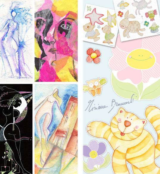 Il blog di manu deko ide adesivi decorativi per for Adesivi murali piastrelle