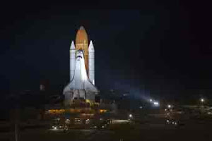 SPACE SHUTTLE ENDEAVOR'S FINAL JOURNEY INTO SPACE