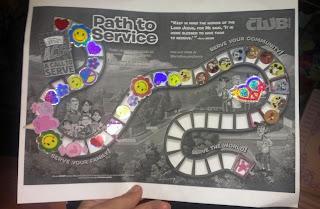 miss grace service chart