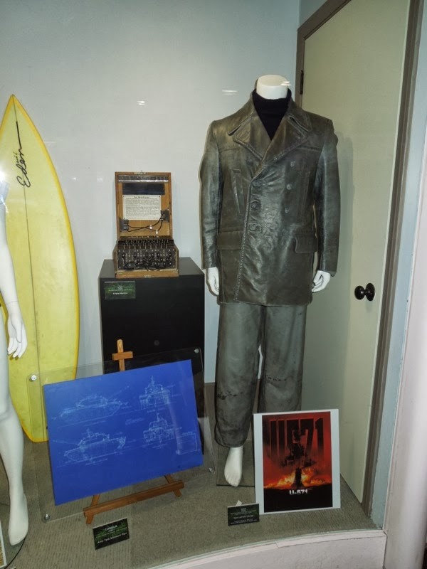 U571 movie costume and prop exhibit