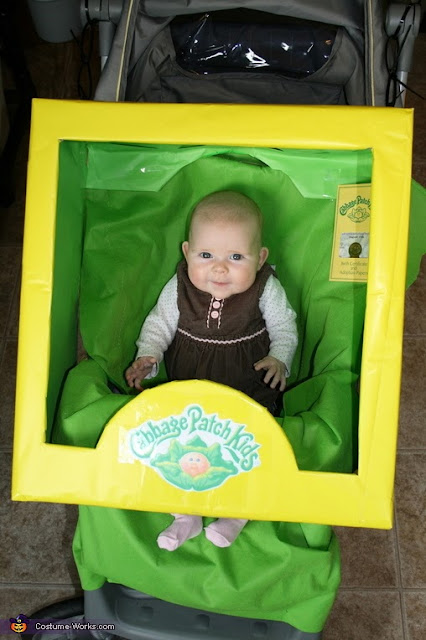 Cabbage Patch Kids Stroller Halloween Costume