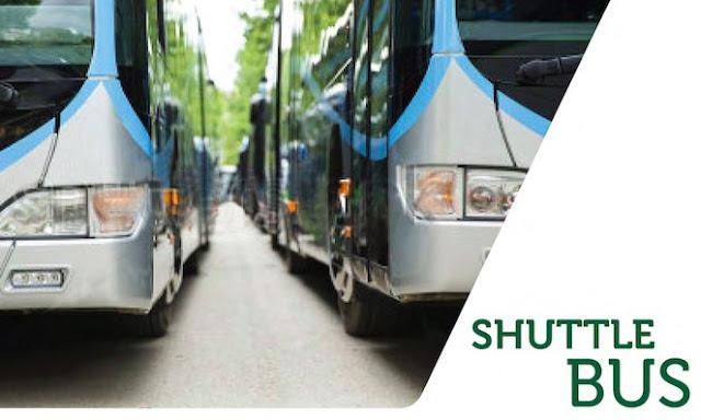 Shuttle Bus di Podomoro Golf View Depok