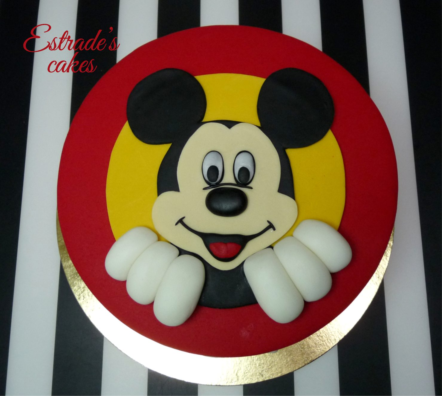 tarta Mickey Mouse - 1