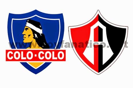 Colo Colo vs Atlas Copa Libertadores 2015