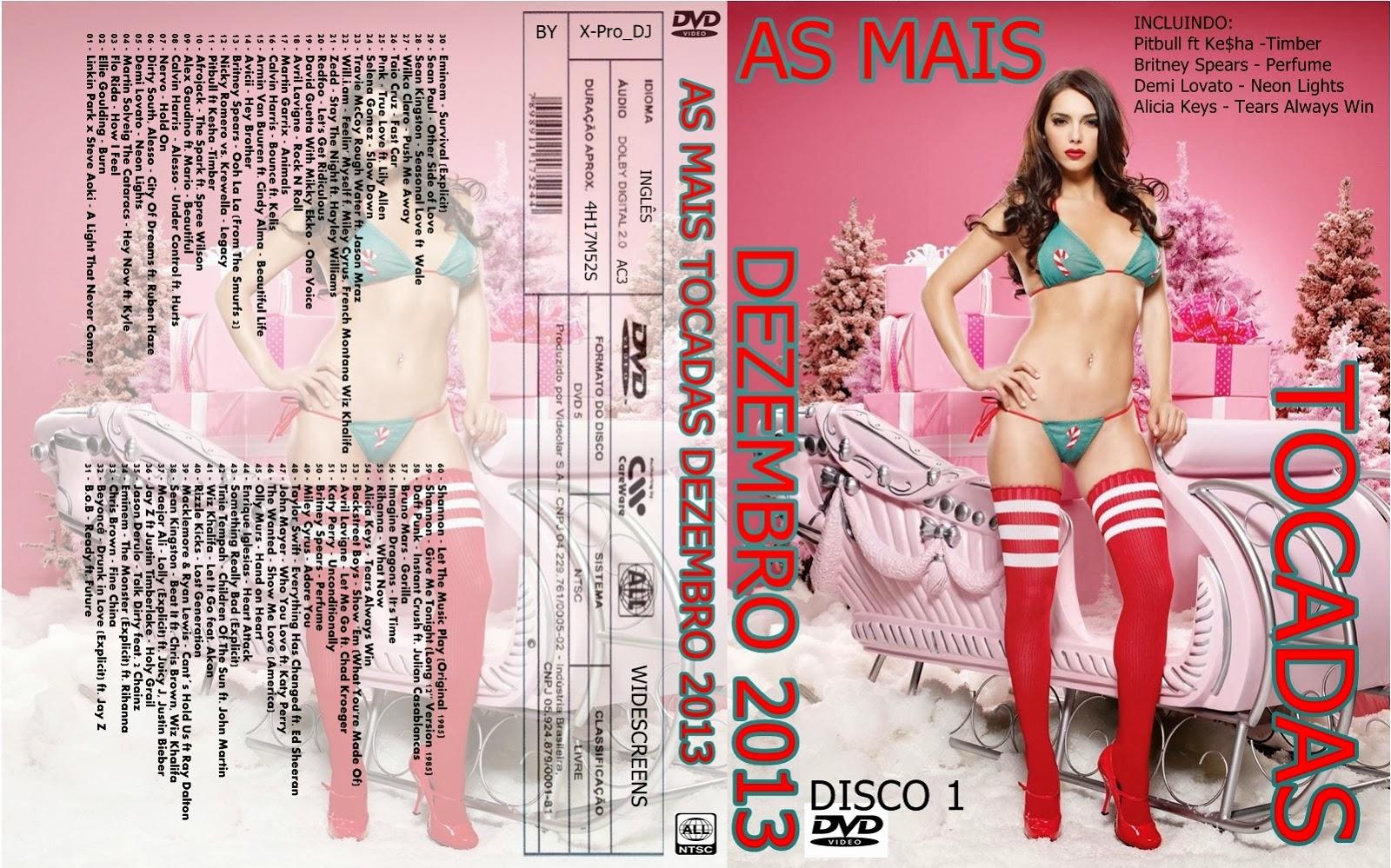 As Mais Tocadas Dezembro 2013 Disco 1 DVD-R 1