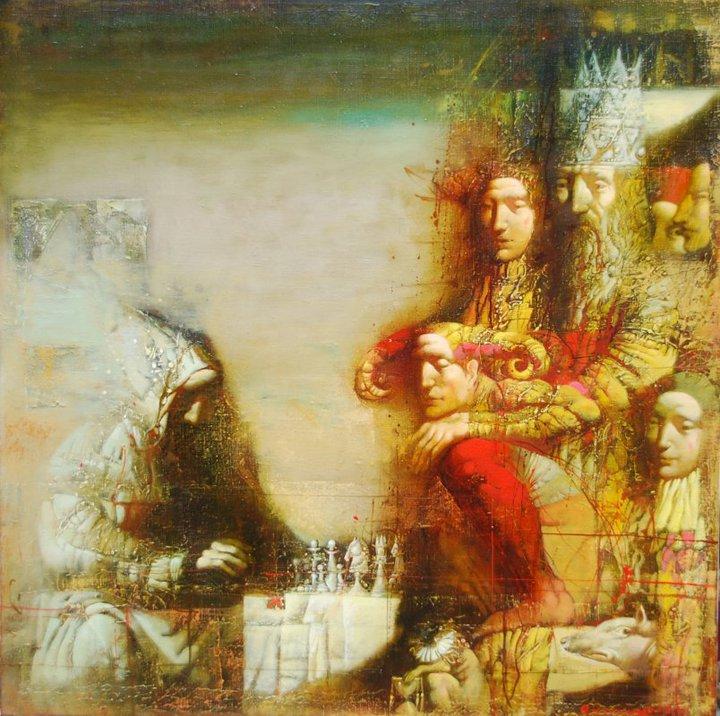 Armen Gasparian 1966 | Russian symbolist painter