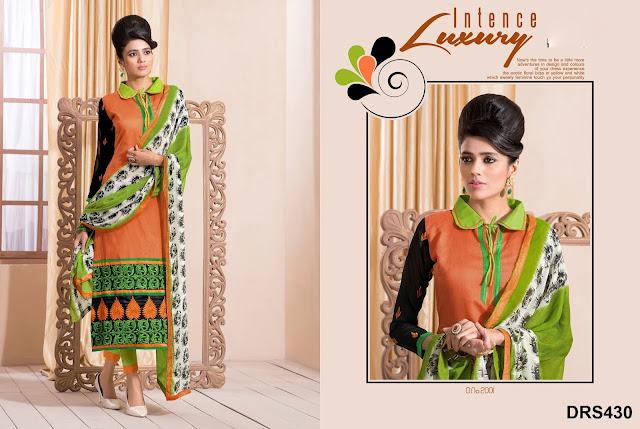 Long Chanderi Silk Designer Salwar Suit Online