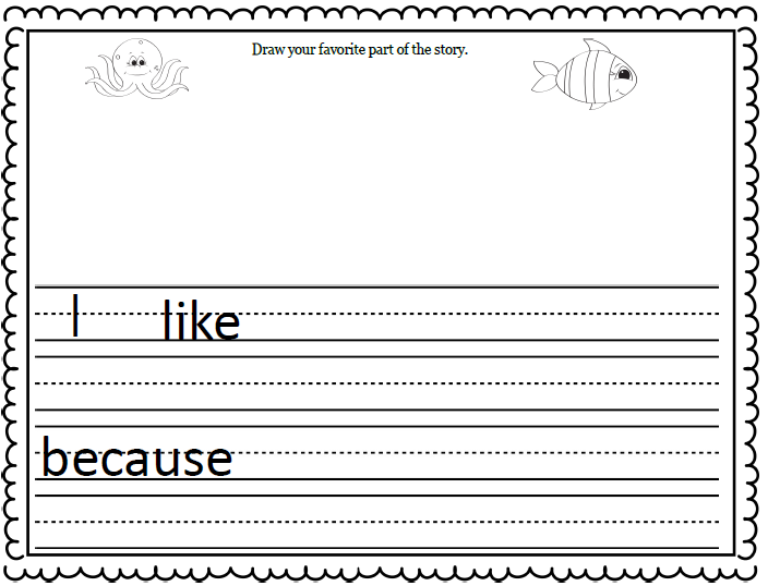 fish writing paper Printable fish stationery and writing paper free pdf downloads at.