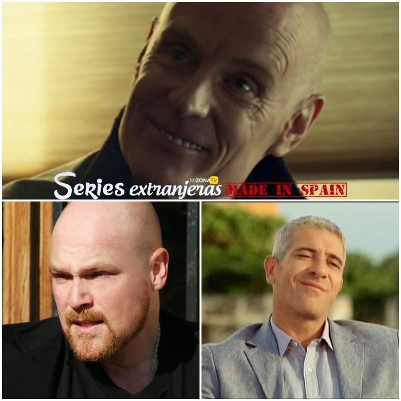 Matt Frewer, Javier Iribaren y Eduardo Velasco