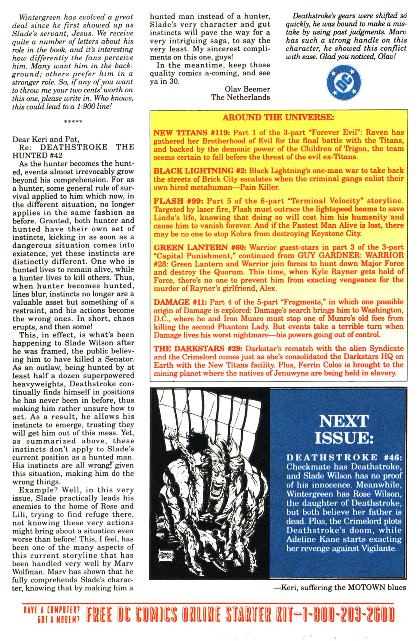 Deathstroke (1991) Issue #45 #50 - English 25