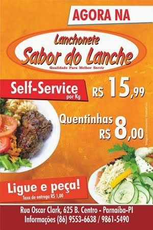 Lanchonete Sabor do Lanche e Self-service