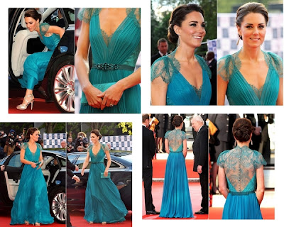 Vestido de Kate Middleton.