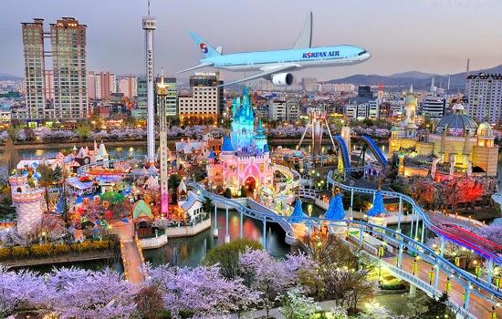 Vé máy bay Korean Air đi Seoul