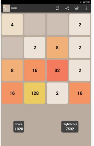 Tải game 2048