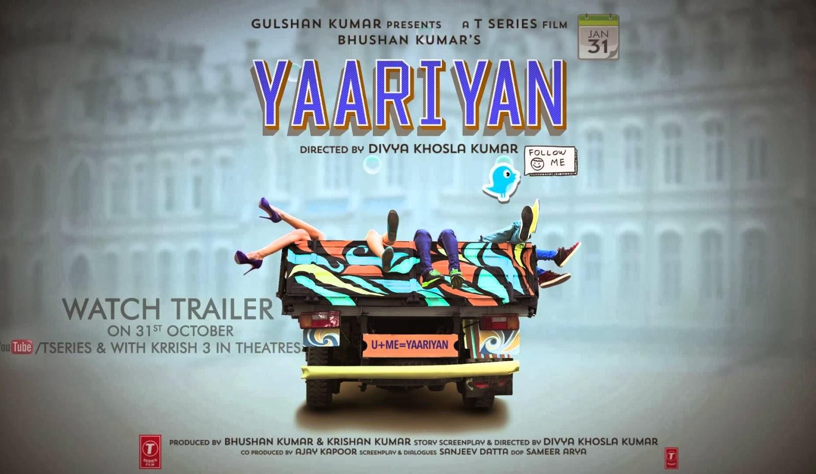 Yaariyan Poster Yaariyan (2013) Hindi ...