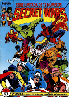 Comics Marvel Secret Wars Castellano