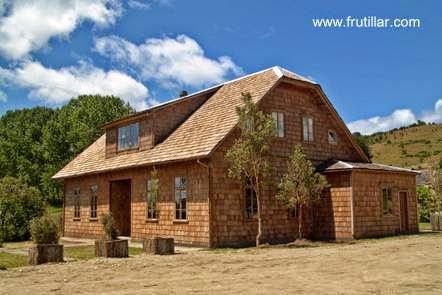 Casa de madera de arquitectura alemana en Frutillar
