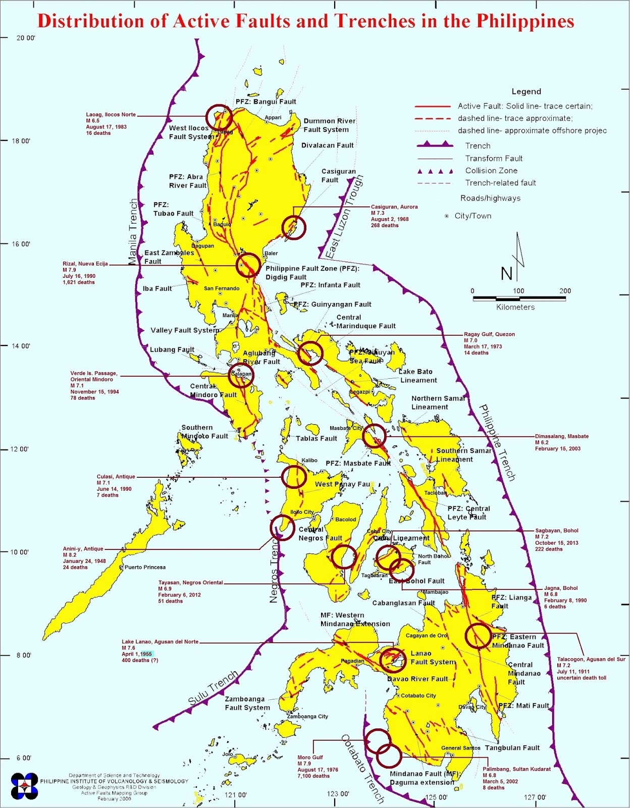 Philippines worst earthquakes 1900 2014 philippine central info and as populated urban centers grow in size and density the more fatal and destructive earthquakes will be here are the most deadly and destructive ones gumiabroncs Gallery
