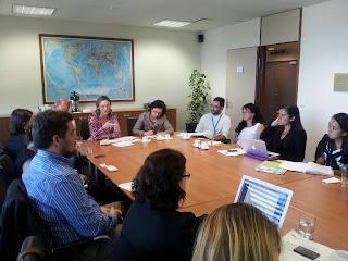 Reunião das ONGs com a Ministra Maria do Rosário, após a revisão do Brasil no Conselho de Direitos Humanos da ONU