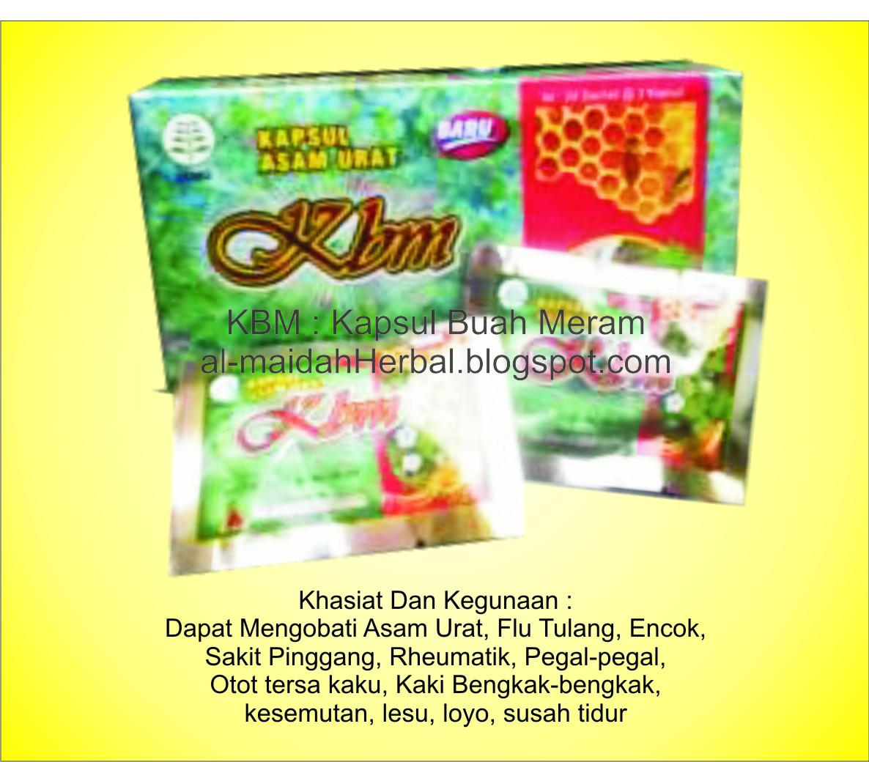 almaidah herbal kapsul buah merah kbm