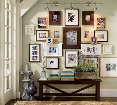 shine or set.: frame wall