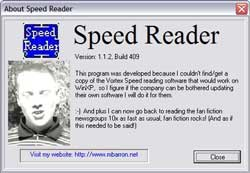 Speed Reader 6.1 – Programa para ler mais rápido