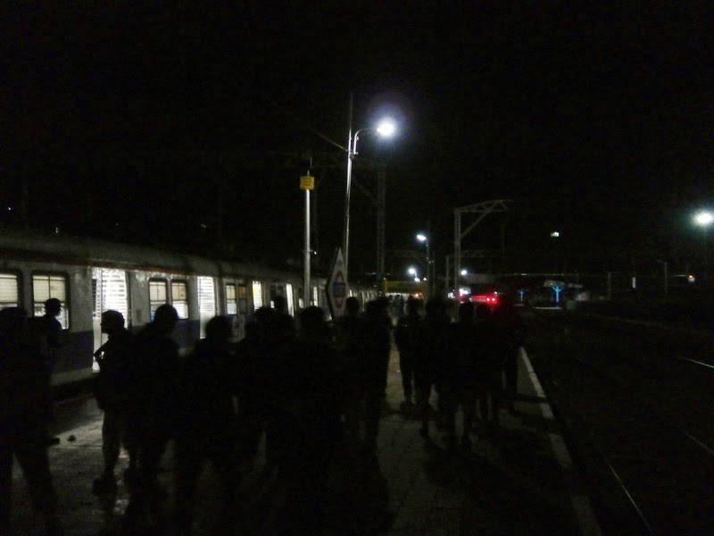 Reached Kasara Railway Station at 3:55 am