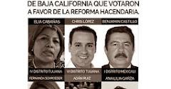 DIPUTADOS FEDERALES DE BAJA CALIFORNIA DEL PRI
