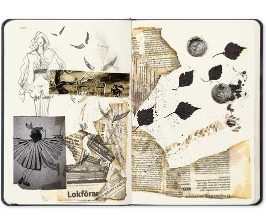 sketchbook ideas zoe antrobus fashion