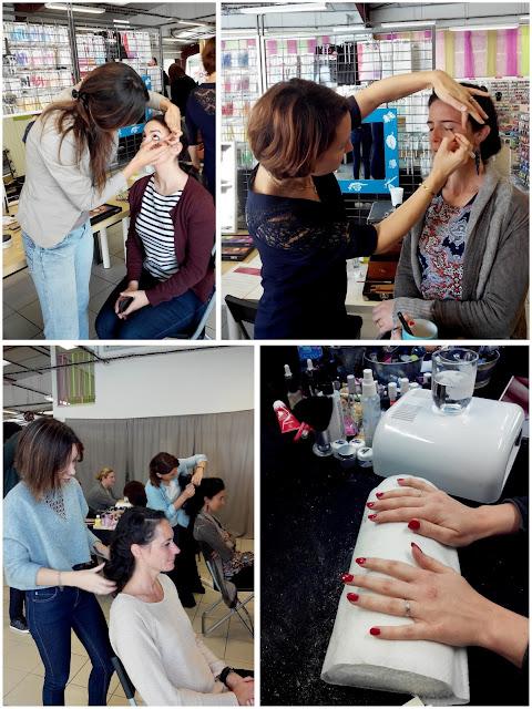Ateliers Beauté, manucure, coiffure, maquillage, La Perle des Loisirs, Bull'Elodie