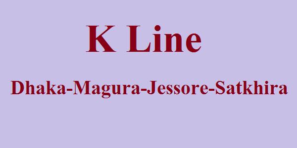K Line Bus Service Dhaka-Magura-Jessore-Satkhira