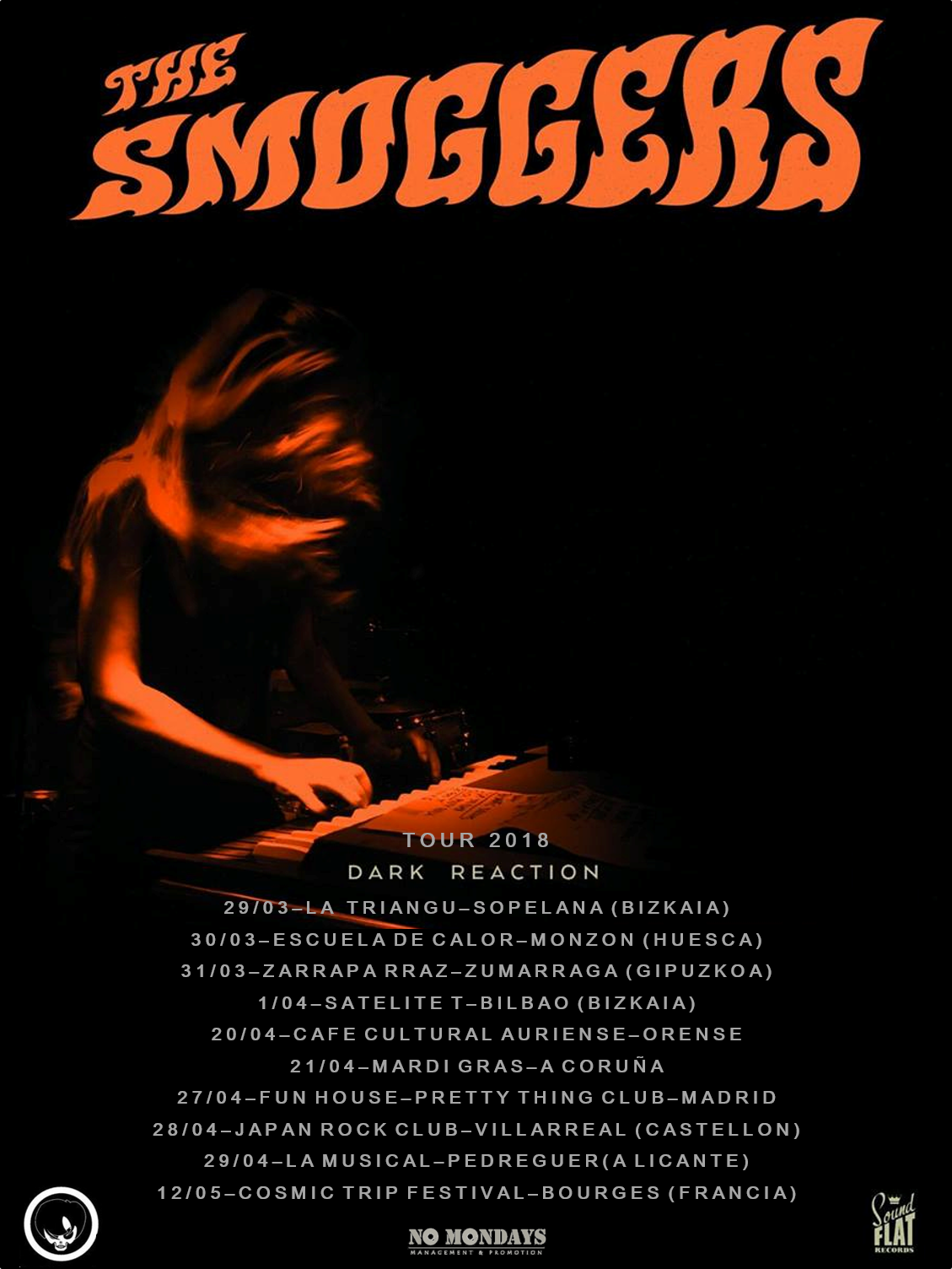 The Smoggers - Dark Reaction Tour 2018