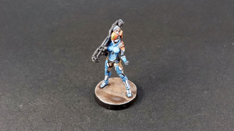 NEOTERRA BOLTS - PANOCEANIA - INFINITY THE GAME - MISSILE LAUNCHER 1