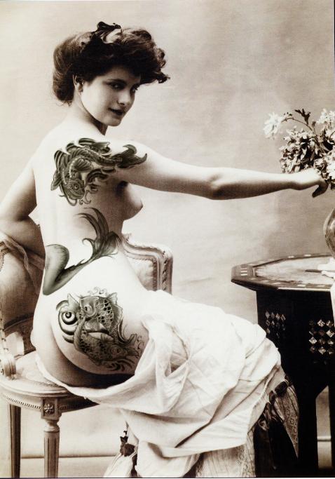 ... Pearls - Fashion, Photography, Alternative Model, Burlesque, Vintage Vintage Tattoos For Women