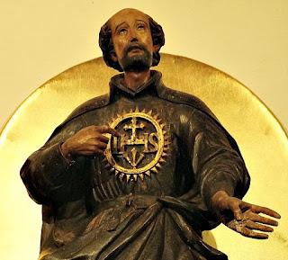 San Ignacio de Loyola no Museu Diocesano de San Ignacio Guazu, no Paraguai.